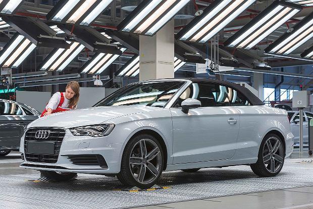 Produkcja Audi A3 Cabriolet