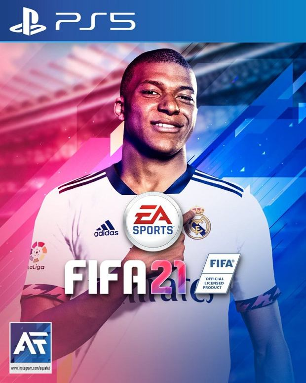 Alternatywna wersja okładki FIFA 21 wykonana przez fana gry