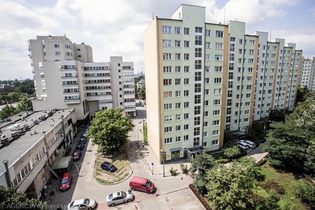Bloki na warszawskiej Woli (Fot. Adam Stępień / Agencja Gazeta)