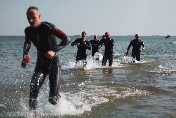 Zdjęcie numer 10 w galerii - Brytyjczyk James Teagle i Holenderka Sarissa De Vries najlepsi w triathlonowym Lotto Challenge Gdańsk 2021 [ZDJĘCIA]
