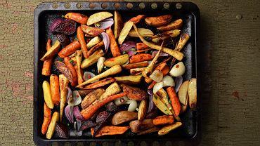 Pieczone warzywa z Vegemite