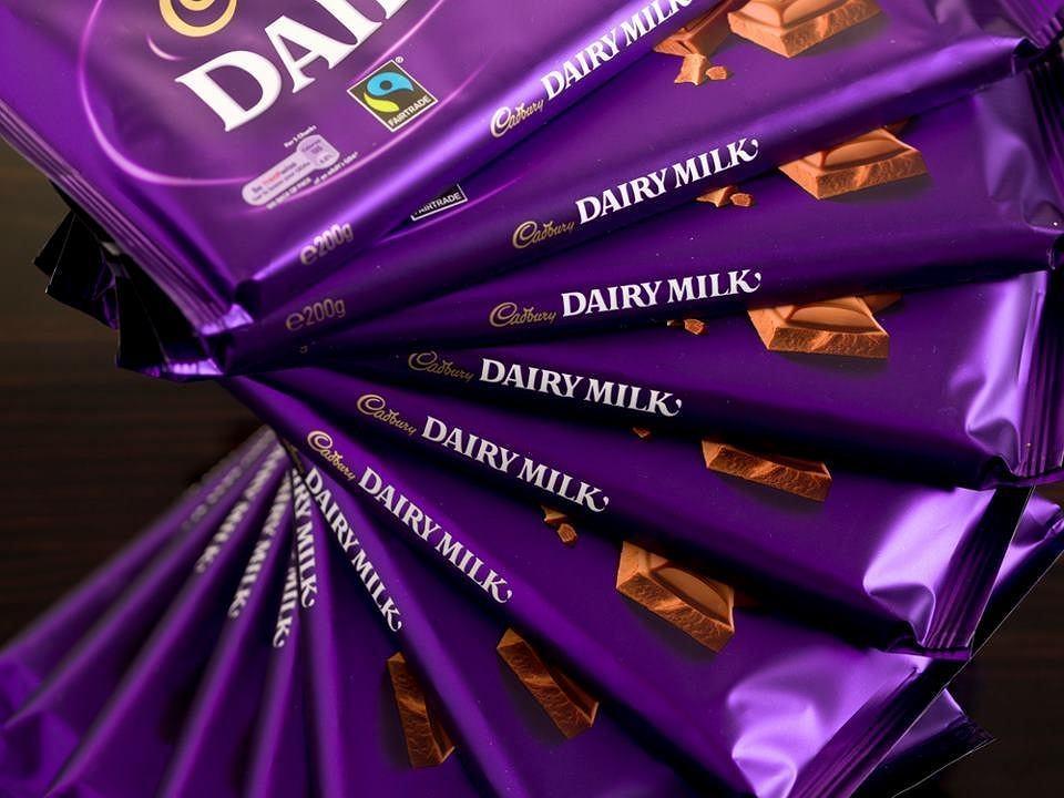 Cadbury usunął napis 'Dairy Milk' ze swoich czekolad
