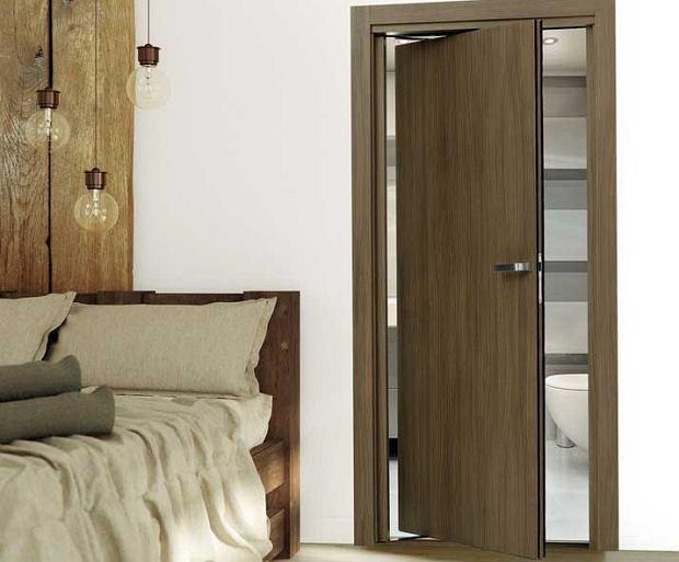 Drzwi: wygodniej, bo bez zawiasów..