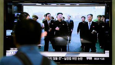 Kom Dzong Un pojawił się publicznie. Relację można było oglądać w telewizji w Korei Południowej