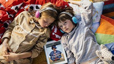 Dzieci używają Storytel