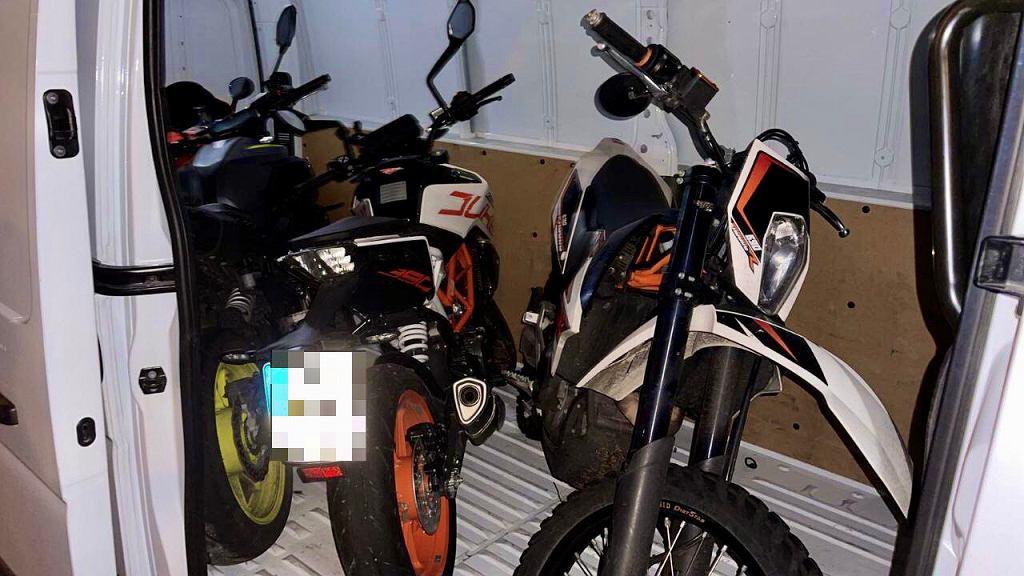 Motocykle ukradzione przez Polaków w Berlinie.