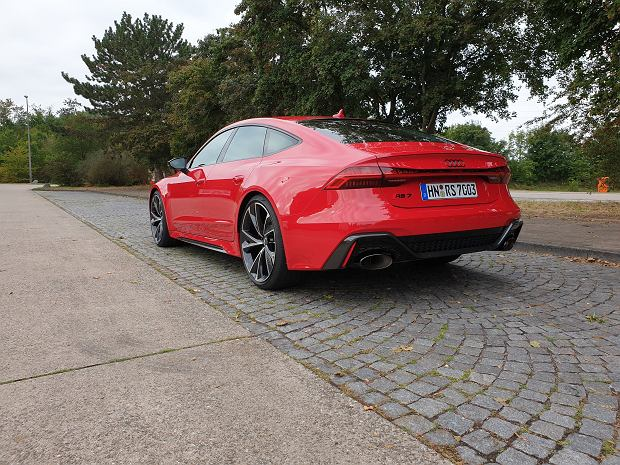 Nowe Audi RS7