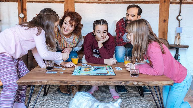 Gry planszowe, które integrują rodzinę