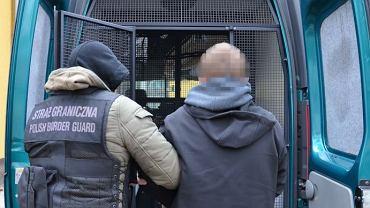 Oficerowie śląskiej Straży Granicznej rozbili zorganizowaną grupę przestępczą zajmującą się przemytem nielegalnych imigrantów