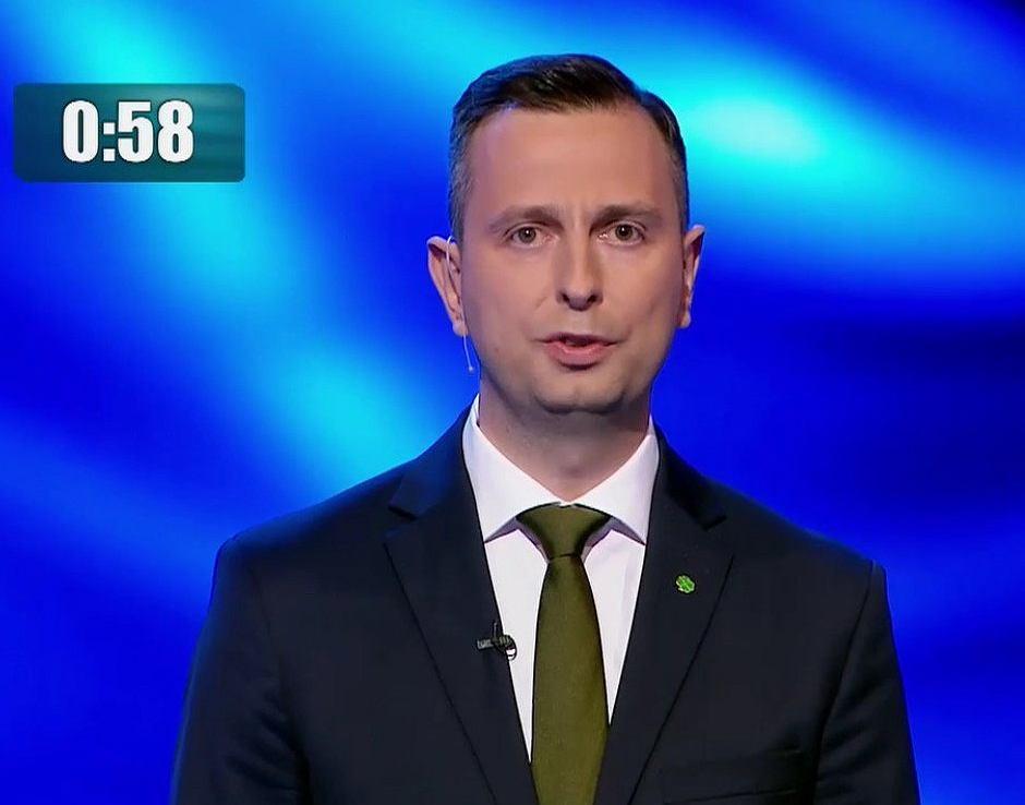 Władysław Kosiniak-Kamysz, debata TVP, screen Twitter.com/ TVP Info