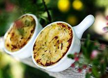 Creme brulée z gorgonzoli i porów - ugotuj