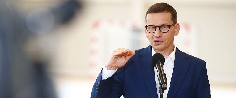Morawiecki pochwalił się inwestycją, której nie ma nawet w planach