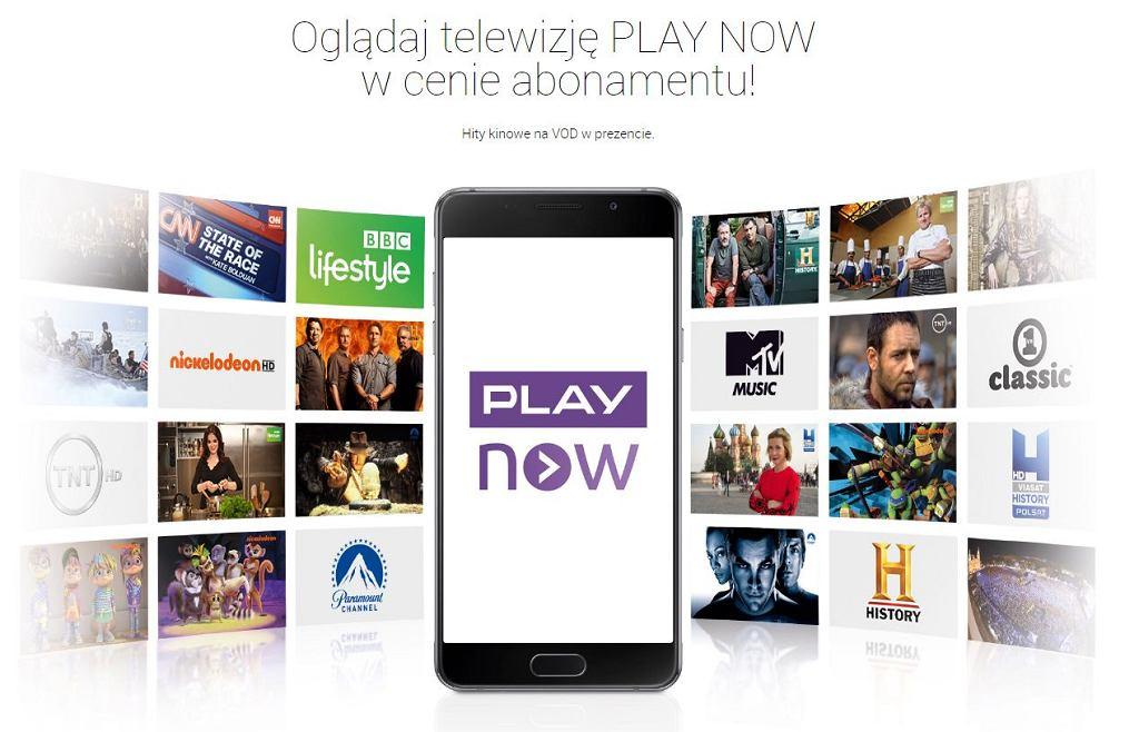 Play Now - usługa VOD