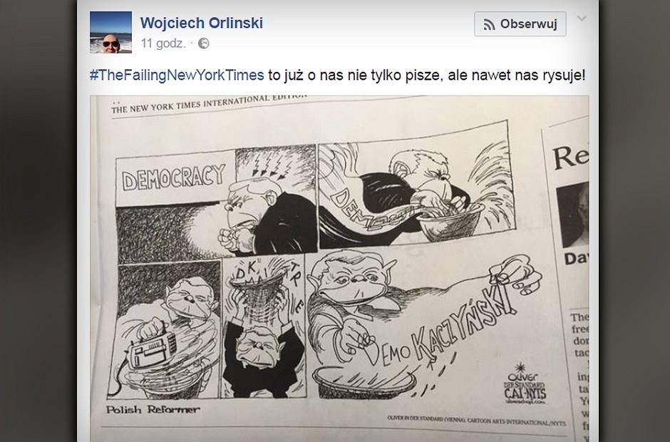 Komiks 'New Jork Times'