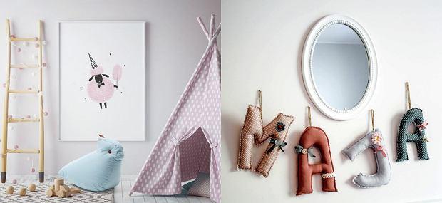 Pokój dla dziewczynki - dekoracje hand made
