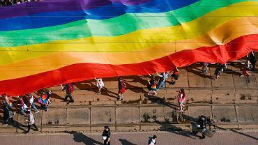 Marsz Równości w Krakowie (zdjęcie ilustracyjne)