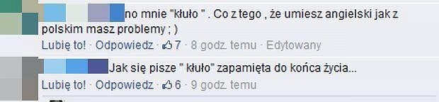Internauci komentują wpis Marty Sędzickiej