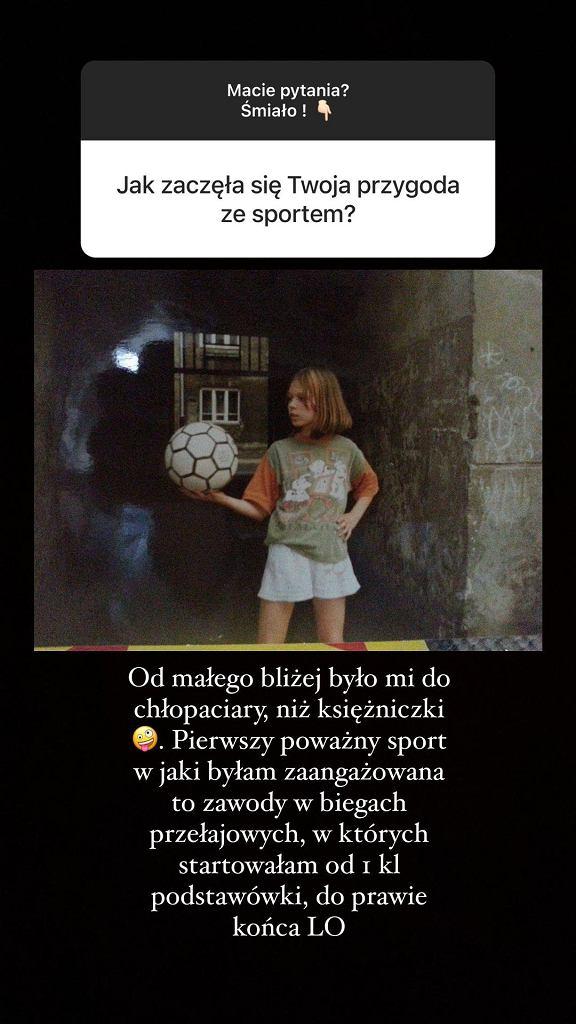 Sylwia Szostak wspomina początki przygody ze sportem