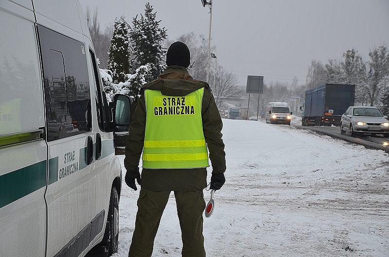 Kontrola straży granicznej