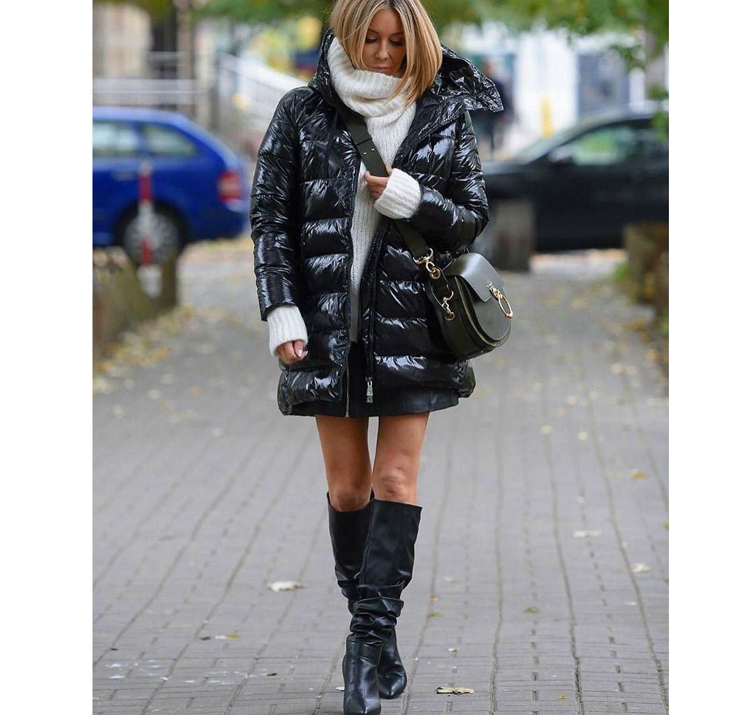 Małgosia Rozenek-Majdan w stylowej, pikowanej kurtce
