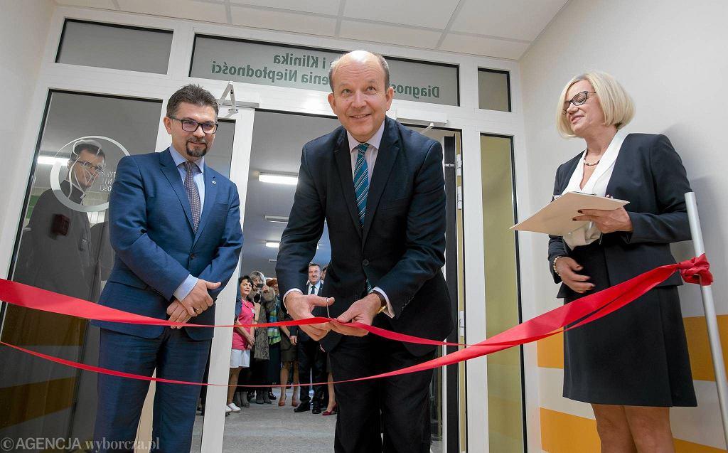 Minister zdrowia Konstanty Radziwił w ICZMP