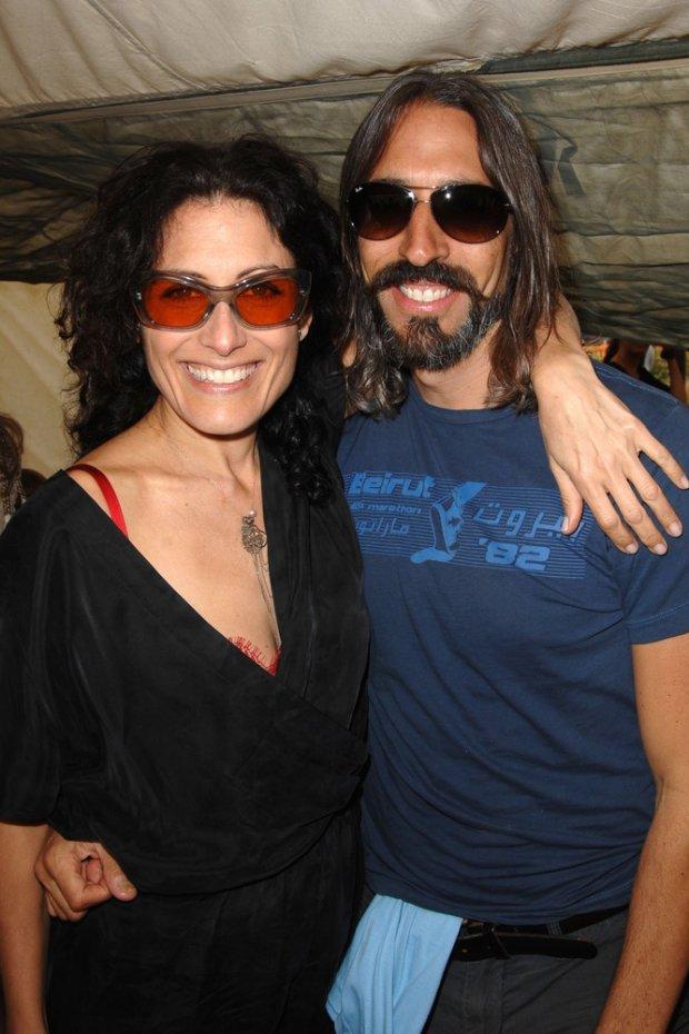Lisa Edelstein i Robert Russell