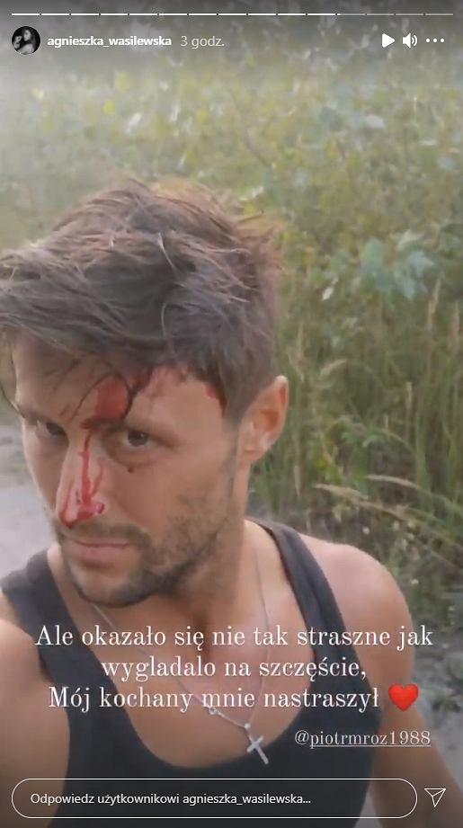 Piotr Mróz miał wypadek samochodowy