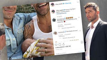 Ricky Martin ma kolejne dziecko. Został ojcem po raz czwarty