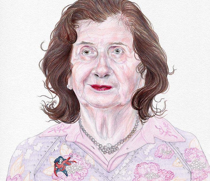 Halina Birenbaum, Superbohaterka 'Wysokich Obcasów' 2017