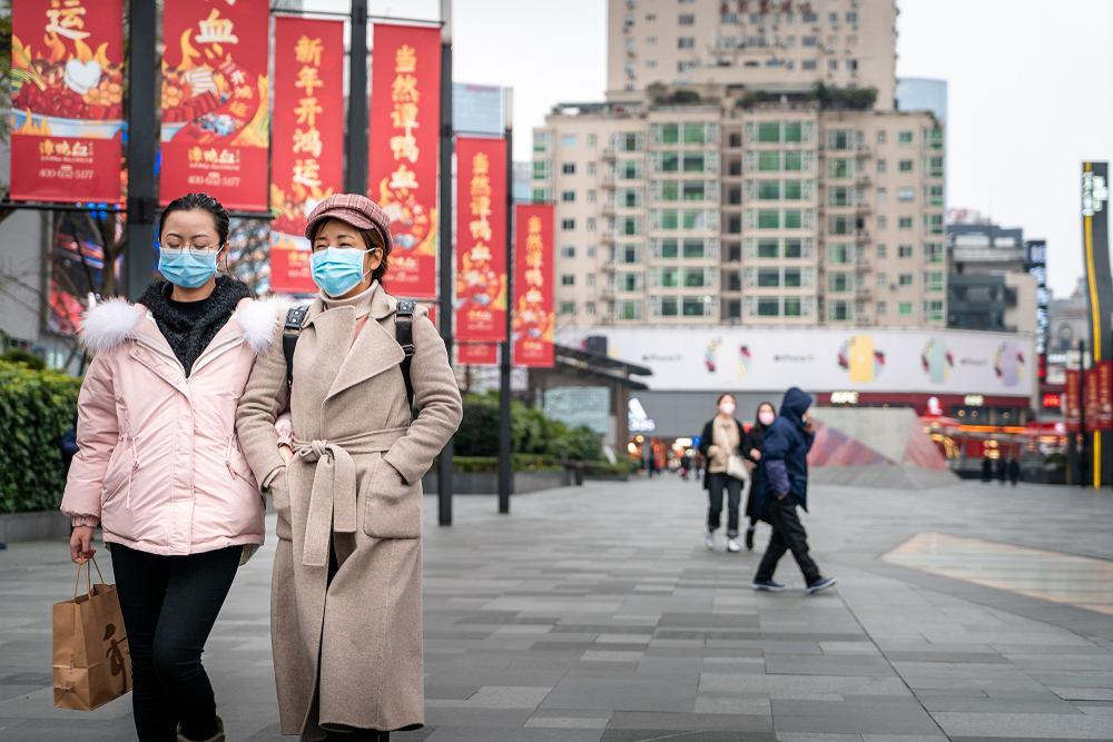 Chiny wprowadziły agresywną walkę z koronawirusem