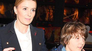 Halina Mlynkova z synem