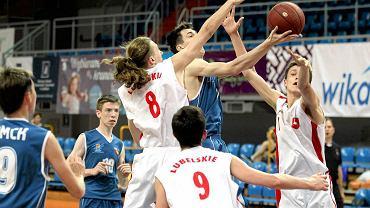 Lublin Basket Cup 2015. Mecz Lublin I - Omsk 65:38