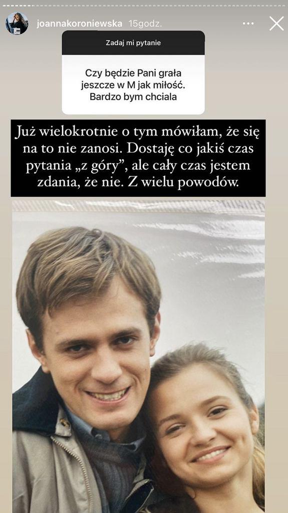 Joanna Koroniewska odpowiada na pytania fanów