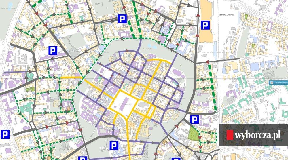 Podgorze Duchackie Dzielnica Xi Miasta Krakowa Granice Dzielnicy Xi