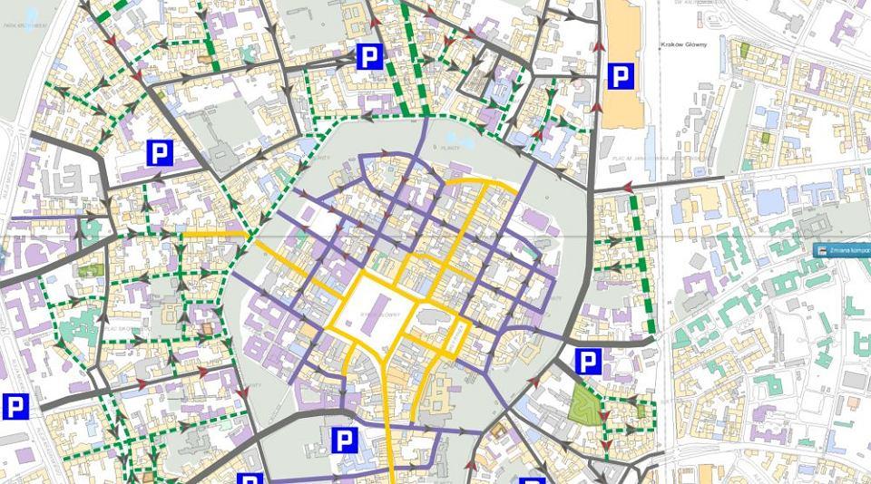 Nowe Strefy W Centrum Krakowa Wjedzie Znacznie Mniej Samochodow
