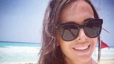 Anna Wendzikowska w Cancun
