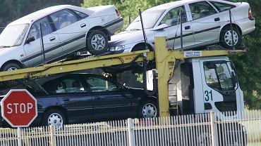 Samochody używane, zdjęcie ilustracyjne