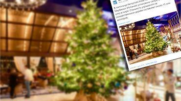 Najdroższa choinka na świecie w Kempinski Hotel