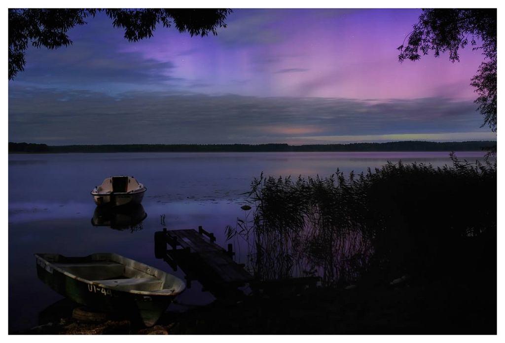Magiczne zjawisko fotograf zarejestrował 8 września w Ełku na Mazurach