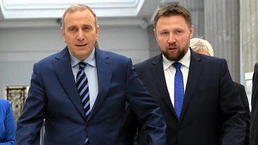 Grzegorz Schetyna i Marcin Kierwiński