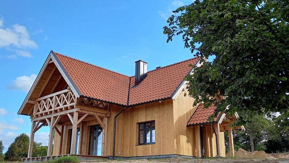 Dom projektu pracowni Pantel, wykonany pod nadzorem autora architekta Tomasza Lelli