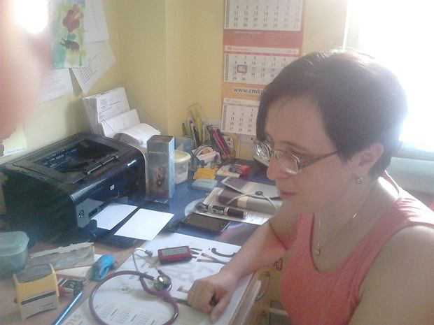 Dr Anna Dzioba z Praktyki Lekarza Rodzinnego