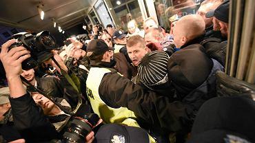 Pod Teatrem Polskim we Wrocławiu w sobotę zatrzymano 20 osób