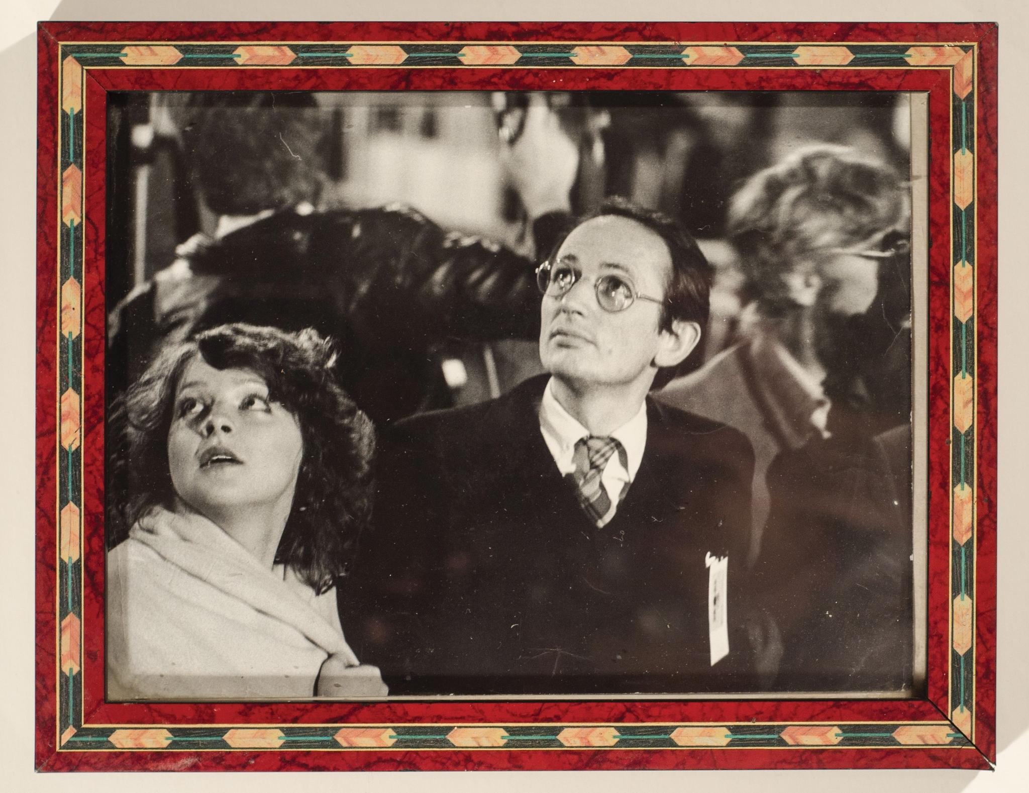 Volkhart i ja w chwili ogłoszenia przez Felipe Gonzáleza demokracji w Hiszpanii, hotel Palace w Madrycie, 1975 rok. (fot. archiwum prywatne)