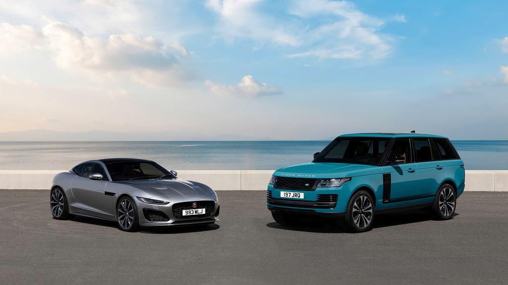 Jaguar F-Type i Range Rover