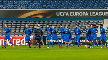 Lecch Poznań trenuje w Lizbonie przez meczem z Belenenses w Lidze Europejskiej