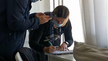 Zielona Góra, 2 października. Policja w mieszkaniu dziennikarza 'Gazety Wyborczej'