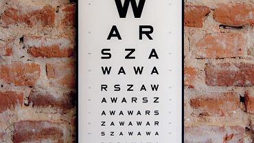 Tablica Warszawa, 27,5 cm x 48 cm, No To Ładnie, cena: 40 zł