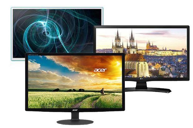 Monitor z funkcją telewizora