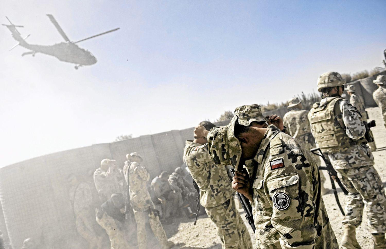 Baza Warrior na południu prowincji Ghazni w Afganistanie (fot. Damian Kramski / AG)